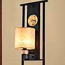 tanie Kinkiety Ścienne-Powłoka antyrefleksyjna Retro / Vintage Lampy ścienne Salon Drewno / Bambus Światło ścienne 220-240V 40 W / E14