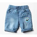 tanie Ubrania dla psów-Brzdąc Dla chłopców Podstawowy Święto Solidne kolory Bawełna Jeansy