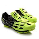 tanie Obuwie rowerowe-Tiebao® Buty na rower górski Włókno węglowe Antypoślizgowy, Zdatny do noszenia, Oddychalność Kolarstwo Zielony czarny Męskie / Oddychająca siateczka / Haczyk