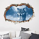 cheap Wall Stickers-Decorative Wall Stickers - Animal Wall Stickers Animals Living Room Bedroom Bathroom Kitchen Dining Room Study Room / Office