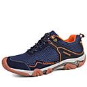זול נעלי בד ומוקסינים לגברים-בגדי ריקוד גברים טול אביב / קיץ נוחות נעלי אתלטיקה טיפוס אפור / כחול / חאקי
