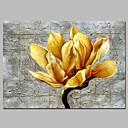 ieftine Picturi cu Peisaje-Hang-pictate pictură în ulei Pictat manual - Floral / Botanic Modern pânză