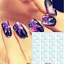 billige Hollow Nail Stickers-5 pcs Hollow negle klistermærker Kreativ Negle kunst Manicure Pedicure Kreativ Trendy / Mode Daglig