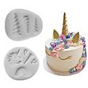 olcso Sütőeszközök-Bakeware eszközök Szilikon Több funkciós Mert főzőedények süteményformákba 2pcs