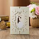 preiswerte Hochzeitseinladungen-Fensterfalz Hochzeits-Einladungen Einladungskarten für die Verlobungsfeier Einladungskarten für die Brautparty Einladungskarten für eine