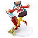 baratos Personagens de Anime-Figuras de Ação Anime Inspirado por Vocaloid Hatsune Miku PVC 16.5cm CM modelo Brinquedos Boneca de Brinquedo