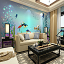 cheap Wall Murals-Mural Canvas Wall Covering - Adhesive required Painting Art Deco 3D