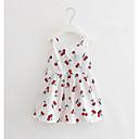 tanie Sukienki dla dziewczynek-Brzdąc Dla dziewczynek Nadruk Bez rękawów Sukienka / Bawełna / Urocza