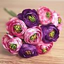 זול פרחים מלאכותיים-פרחים מלאכותיים 9 ענף חתונה / פרחי חתונה Camellia פרחים לשולחן