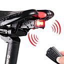 tanie Pudełka na upominki-Tylna lampka rowerowa / Lampka rowerowa z klaksonem LED Światła rowerowe Kolarstwo Wodoodporny, Pilot zdalnego sterowania, Wiele trybów 120 lm Akumulator Kolarstwo / Rower / IPX-5