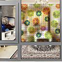 tanie Naklejki ścienne-Folie okienne i naklejki Dekoracja Współczesny Druk 3D PVC Naklejka okienna / Matowy / a / hol / Salon