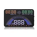tanie Wyświetlacze samochodowe-S7 1.4 in DOPROWADZIŁO Przewodowy / a Wskaźnik LED / Podłącz i graj / Wyświetlacz wielofunkcyjny na Samochód / Autobus / Kamyon Zmierz prędkość jazdy / Prędkość jazdy / Wyświetlacz KM / h MPH