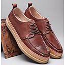 זול מגפיים לגברים-בגדי ריקוד גברים עור נאפה Leather / עור סתיו / חורף נוחות נעלי אוקספורד חום