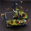 tanie Imprezowe nakrycia głowy-Sztuczna pióro Stroik z Pióro / Satynowy kwiatek 1 szt. Ślub / Specjalne okazje Winieta