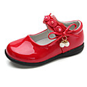cheap Girls' Shoes-Girls' Shoes PU Spring Comfort / Ballerina Flats for White / Black / Red