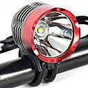 tanie Światła rowerowe-Światła przednie / Przednia lampka rowerowa LED Światła rowerowe LED Kolarstwo Profesjonalny, Odporność na strząsy, Łatwe przenoszenie Akumulator 3000 lm Naturalna biel Kemping / turystyka