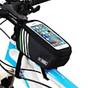 cheap Bike Frame Bags-Cell Phone Bag / Top Tube Bag 5.7 inch Touch Screen Cycling for iPhone 8/7/6S/6 / iPhone X / Samsung Galaxy S8+ / Note 8 Blue / Waterproof Zipper