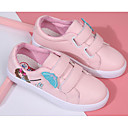 cheap Girls' Shoes-Girls' Shoes PU Spring Comfort Sneakers for White / Pink
