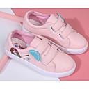 זול נעלי ילדות-בנות נעליים PU אביב נוחות נעלי ספורט ל לבן / ורוד