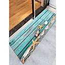 baratos Tapetes-Tapetes para Porta / Tapetes Anti-Derrapantes / Os tapetes da área Esporte & lazer / Modern Flanela, Retângular Qualidade superior Tapete