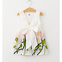 cheap RC Parts & Accessories-Toddler Girls' Elegant & Luxurious Daily / Holiday Floral Embroidered Sleeveless Cotton / Polyester Dress White
