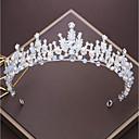 preiswerte Parykopfbedeckungen-Aleación Tiaras mit Strass / Kristall 1pc Hochzeit / Besondere Anlässe Kopfschmuck