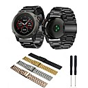 זול אביזרים שעון חכם-צפו בנד ל Fenix 5x / Fenix 3 HR / Fenix 3 Garmin פרפר באקל מתכת אל חלד רצועת יד לספורט