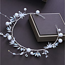 ieftine Accesorii Păr de Petrecerere-Aliaj Ornamente de Cap cu Cristal / Perlă Artificială 1 buc Nuntă / Ocazie specială Diadema