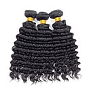cheap VGA Cables & Adapters-3 Bundles Vietnamese Hair / Deep Wave Curly / Deep Wave Unprocessed Human Hair / Human Hair Gifts / Extension / Brands Outlet Human Hair Weaves New Arrival / For Black Women / Coloring Black Natural