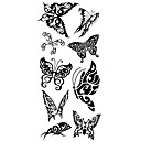 cheap Temporary Tattoos-Waterproof / Tattoo Sticker Body / Arm / Shoulder Temporary Tattoos 1 pcs Animal Series Body Arts