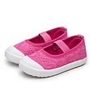 tanie Obuwie chłopięce-Dla dziewczynek Obuwie Płótno Wiosna Wygoda Mokasyny i buty wsuwane na Biały / Szary / Różowy