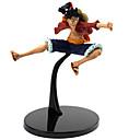 זול חרבות קוספליי אנימה-נתוני פעילות אנימה קיבל השראה מ One Piece Monkey D. Luffy PVC 12 cm CM צעצועי דגם בובת צעצוע