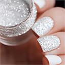 Χαμηλού Κόστους νυχιών Glitter-6 / 6pcs Τεχνητές Συμβουλές για τα Νύχια Τσάντα εργαλείων Προμήθειες Καλλιτεχνικών τέχνη νυχιών Μανικιούρ Πεντικιούρ Γκλίτερ Γάμου / Καθημερινή Ένδυση