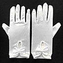 cheap Party Gloves-Spandex Wrist Length Glove Bridal Gloves / Party / Evening Gloves With Ruffles / Butterfly