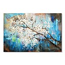 cheap Abstract Paintings-STYLEDECOR Modern Hand Painted Abstract White Tree Canvas Oil Painting Wall Art