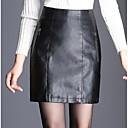 זול צמיד אופנתי-אחיד - חצאיות גזרת A סגנון רחוב בגדי ריקוד נשים