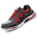 זול נעלי ספורט לגברים-בגדי ריקוד גברים אור סוליות רשת / טול קיץ נוחות נעלי ספורט ריצה / טיפוס / שטח שחור / בז' / שחור אדום
