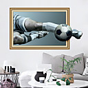 cheap Wall Decor-Wall Decal Decorative Wall Stickers - Plane Wall Stickers Football 3D Re-Positionable Removable