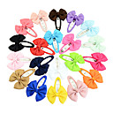 cheap Scissors & Clippers-Pins Hair Accessories Grosgrain Satin Wigs Accessories Girls' 20pcs pcs 1-4inch cm Party Daily Boutique Stylish Cute For Children