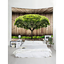 cheap Wall Tapestries-Garden Theme Landscape Wall Decor 100% Polyester Contemporary Modern Wall Art, Wall Tapestries Decoration