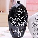 baratos Decorações Natalinas-2pcs Cerâmica Moderno / Contemporâneo para Decoração do lar, Home Decorações Presentes