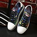 abordables Zapatillas de Hombre-Unisex Zapatos Confort Tela Primavera Zapatillas de deporte Negro / Azul