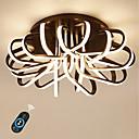 olcso Olajfestmények-Ecolight™ Vonalizzó Mennyezeti lámpa Háttérfény Anódozott Alumínium Akril Tompítható, Szeretetreméltő 110-120 V / 220-240 V Meleg fehér / Fehér / Távirányítóval szabályozható Az izzó tartozék / FCC