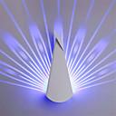 baratos Arandelas de Parede-Modern 9 w conduziu a lâmpada de parede forma de pavão de metal sconce quarto decorar luzes de parede ac85-265v