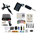 cheap Temporary Tattoos-BaseKey Tattoo Machine Starter Kit - 2 pcs Tattoo Machines with 7 x 15 ml tattoo inks, Professional, Kits Alloy Mini power supply Case Not Included 20 W 2 rotary machine liner & shader