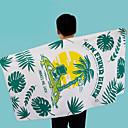 ieftine Prosop de Plajă-Calitate superioară Prosop de Plajă, Geometric / Floral / Botanic Poli / Bumbac 1 pcs