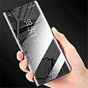 abordables Fundas para Teléfono & Protectores de Pantalla-Funda Para Huawei P20 / P20 Pro con Soporte / Cromado / Espejo Funda de Cuerpo Entero Un Color Dura Cuero de PU para Huawei P20 / Huawei P20 Pro / Huawei P20 lite / P10 Plus / P10 Lite / P10