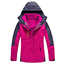 cheap Softshell, Fleece & Hiking Jackets-Women's Hiking Jacket Outdoor Autumn / Fall / Winter Rain-Proof, Windproof, Waterproof Zipper Top Double Sliders / Single Slider Skiing /