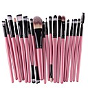 cheap Mascaras-20pcs Makeup Brushes Professional Eyeliner Brush Blush Brush Foundation Brush Lip Brush Eyebrow Brush Eyeshadow Brush Concealer Brush Eyelash Brush Artificial Fibre Brush Eco-friendly / Professional