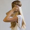 cheap Tape in Hair Extensions-Flip In Human Hair Extensions Classic Human Hair Extensions Human Hair Women's - Light Blonde Platinum Blonde Dark Wine